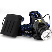REAL CREE XM-L T6 LED 1200 Lumens Zoomable & Adjustable Headlamp Headlight 4 x AA
