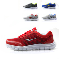 Spring and autumn breathable shoes network male light sport  shoes jogging shoes sports shoes men's