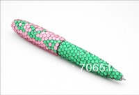 Wholesale Free shipping(50pcs/lot) Metal twist 10.5cm AKA bling pen