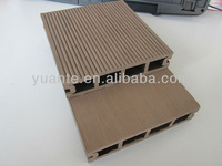 Easy install and low maintenance outdoor wood plastic composite/wpc flooring