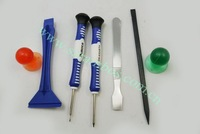 100pcs/lot 7 in 1 Repair Opening Tools Kit Set Special for iPad for Tablet PC free shipping