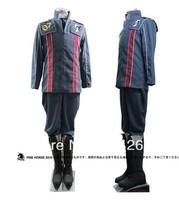 Valkyria Chronicles The Nameless Squad Kurt Irving Cosplay Full Set Costume  free shipping