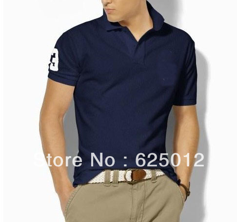 Bottom price Free Shipping!brand men&#39;s t-shirt and leisure casual British style,100% cotton short sleeve sports shirt &amp;Original(China (Mainland))
