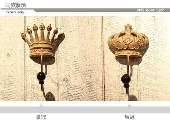 Home decor iron craft vintage anitique clothes hook metal souvenirs decorative hook