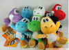 "10pcs Soft Plush Super Mario Bros Yoshi Plush Anime 4"" Keychain yoshi keychain phone chain plush 12 colors(China (Mainland))"
