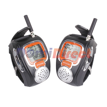 2PCS Wrist Watch Walkie Talkie I-008 With Adjustable Band 8/14/20/22/25 Channels