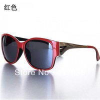 2013 new high-grade resin lens men and women generic fashion sunglasses retro sunglasses for men and women free shipping red