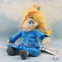 "High quality Princess Rosalina 13"" Super Mario Bros Plush Doll Toy Collectible"