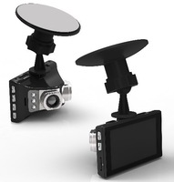 double cameras with G-sensor DVR Vehicle camera