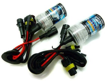 Wholesales 2PCS HID Xenon White Car 9006 HB4 6000K Bulbs Lamp Headlight 12V 35W Single Beam, Free & Drop Shipping