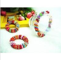 {Min.order $15}  2014 New Princess/Girl/Kids/Children Plastic Colorful Snow flower Plates Bracelet free shipping