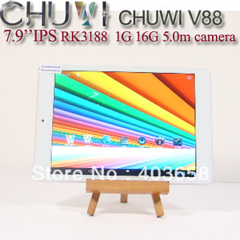 Tablet Chuwi V88 RK3188 Quad Core ips Capacitive Screen Android 4.1 2GB/16GB Dual Camera Bluetooth Tablet PC