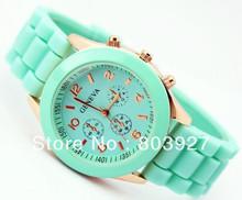 Hot sale New Fashion Designer Ladies sports brand silicone watch jelly watch quartz watch for women men Free S