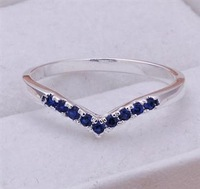 L-CR188 wholesale Free shipping+ Sterling 925 silver The hottest selling Ring heart-shaped 925 silver nice fashion