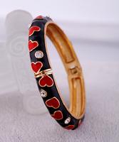 Fashion accessories love vintage women's bracelet Factory Wholesale