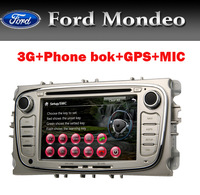 3G Auto Radio GPS for Ford Mondeo/Smax/Focus With GPS/BT/TV/RDS/PIP/IPOD/Cabus/Free shipping