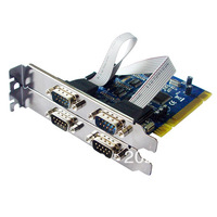100% NEW IOCREST BRAND  PCI turns 4 Serial Ports Card,FREE SHIPPING