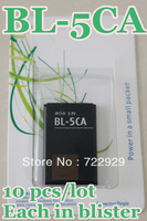 Original BL-5CA Mobile Phone Battery for Nokia 1110 1112 1116 1208 1600 Free Tracking