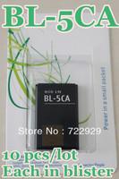 Original BL-5CA Mobile Phone Battery for Nokia 1110 1112 1116 1208 1600 Free Tracking