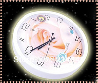 j24/Free shipping Contracted and contemporary fashion cartoon mute wall clock clock sitting room sell like hot cakes