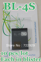 Original BL-4S Mobile Phone Battery for Nokia 1006/2680s/3600s/3602S/6202c/7020 Free Tracking