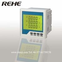 digital intelligent AC current three phase meter  LCD