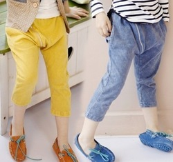 Princess girls clothing 2013 spring water wash the trend of the harem pants hanging crotch pants(China (Mainland))