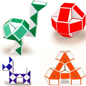 Free Shiping High Quality New Holiday Sale 2PC/Lot Pro Children&Adult Plastic Puzzle Magic Cubes Changed Cube Educational Toys