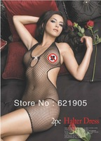 Free shipping  Sexy Lingerie Baby doll Mesh Skirt Sleepwear with Thong Wholesales and Retail