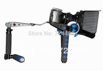 Slider Steadycam [drop Shipping] Dslr Kit - Magic Shoulder Mount + Follow Focus Mattebox Filmmaker's Tool for Dv / Hdv Camera