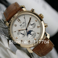 Swiss watch calendar male table calendar week automatic mechanical watches Roman scale men's watches moon phase tables