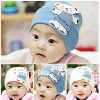 M09 Children's hats wholesale Korea dimensional cartoon Winnie the labeling kit lens cap / baby hat / children cap Large