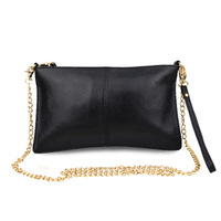 Free Shipping 2013 Fashion women's lady parts genuine leather handbag chains shoulder bag f364
