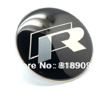 VW  Steering Wheel Badge Emblem Sticker Fit for Golf/ Polo/ CC/ Bora/Scirocco/Magotan/Lavida/Sagitar 45mm Car Accessories