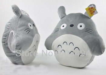 "16"" Totoro Plush Toys Cushion Stuffed Plush Pillow Cartoon Stuffed Cushion Pillow"
