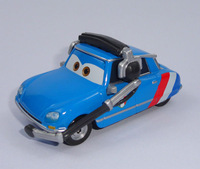 Free shipping Pixar Cars 2 Racing Commander Blue Diecast Car Toy for children New