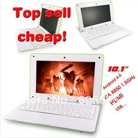10.2 inch netbook VIA 8850 Android 4.0 WiFi Webcam 1G RAM 4G HDD Free Shipping