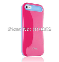 GLOW Case for iPhone 5 Dual colors Skin Cover i-glow new arrival with retail package
