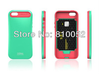 Shock Proof i-Glow TPU Soft Silicon Plastic Case Cover for iPhone 5