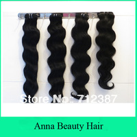 "4 bundles mix length malaysian hair body wave 4pcs lot malaysian hair wavy weave bundles color 1b 2# 4#12""-30"" DHL shipping"