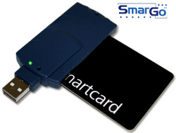 Smargo card reader smartreader plus wholesale free shipping by post(China (Mainland))