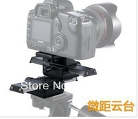[Drop Shipping] New Three-dimensional head Macro head withe head board for tripod /SLR camera