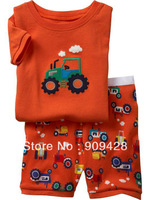 Hotsale Cheap Children cotton pajamas with printed cartoon 18931
