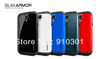 Free Shipping  (30pieces/lot) latest  SPIGEN SGP Slim Armor Color case for Samsung Galaxy galaxy S4 I9500