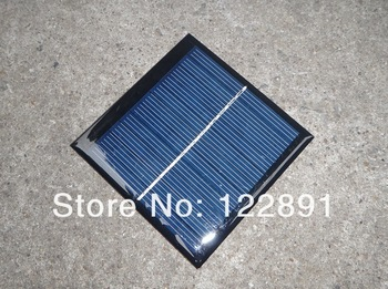Wholesale!100pcs/lot  Mini Solar Cell 1watt  5.5 V Solar Panel Solar Module Polycrystalline Solar Cell Panel DHL Free Shipping