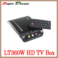 VGA external HD Digital TV Box Support 28-inch monitor /support LCD and CRT monitor / tv tuner box / tv tuner built-in speaker