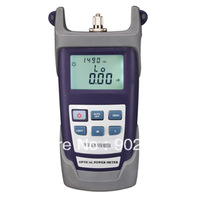 Free shipping via DHL RY-PM500A Portable Optical Power Meter With FC SC ST Connector .-50~+26    dBm Fiber Meter