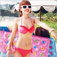 2013 Hot Sale Korea fission swimsuit with steel bracket Brand Ladies' Sexy bikini with PAD 3colors swimsuits Ladies'  beachwear