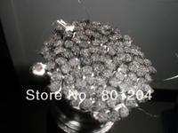 Wholesale 20 hanks of black violin bow hair black horse hair 80cm