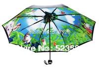 Ghibli umbrella  / Hayao Miyazaki   / Totoro umbrella / UV umbrella  / Ghibli